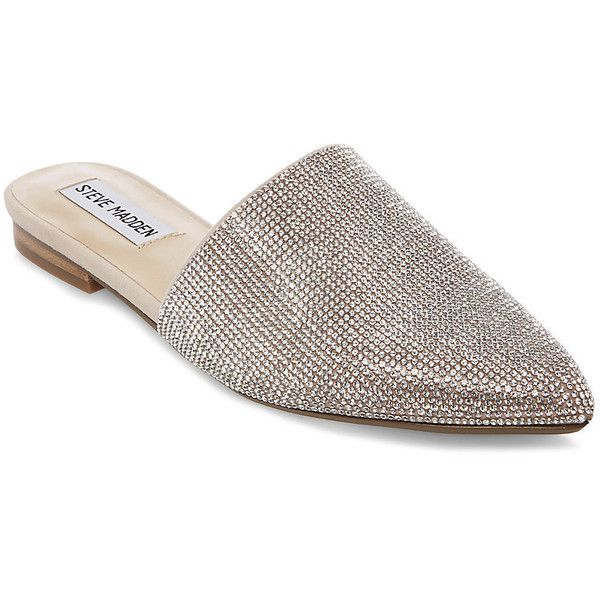 Steve Madden Trace-R Flats (4.560 RUB) ❤ liked on Polyvore featuring shoes