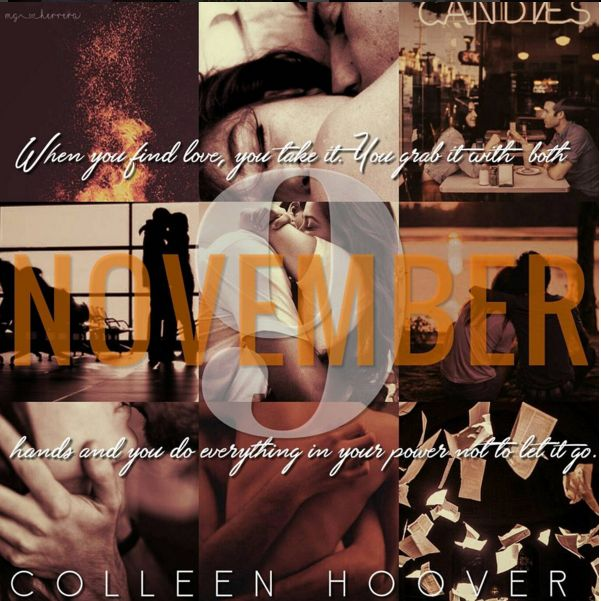 November 9  Colleen Hoover: