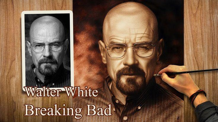 Breaking Bad (Heisenberg (Walter White)) speed drawing Portrait