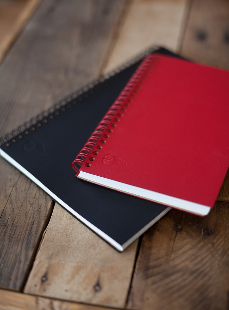 Our spiral bound, Soft Touch Series Notebooks are available in a variety of sizes