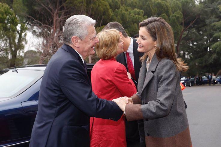 Foro Hispanico de Opiniones sobre la Realeza: Los Reyes Felipe y Letizia almuerzan con el presidente de Alemania, Joachim Gauck