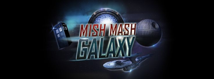 MISHMASH: Galaxy  is a light strategy game of long term planning, memorisation and card management with a theme of fantasy / SF Technologies taken from all sort of popular media, be it TV shows, comic