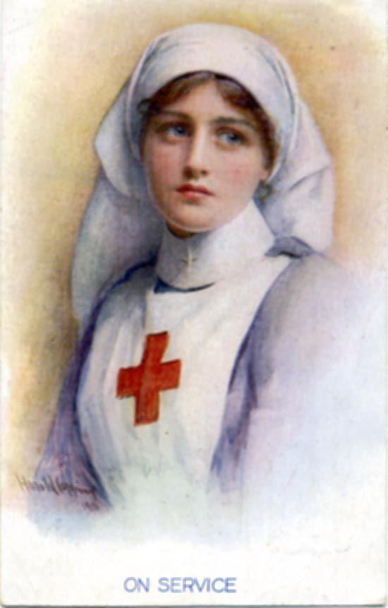 1916 Red Cross Nurse - Isn't she just beautiful!