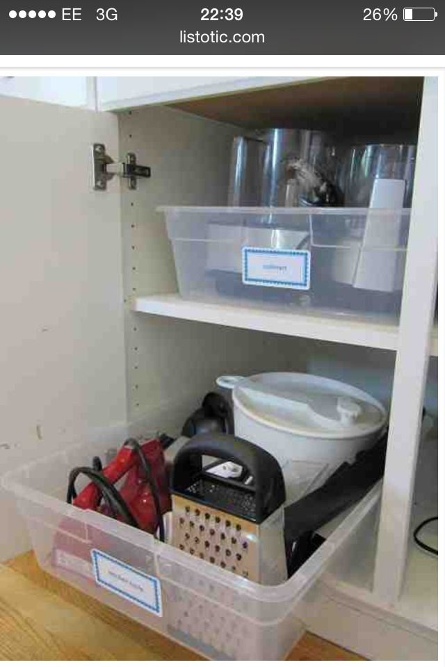 Easy Kitchen Organisation Tips