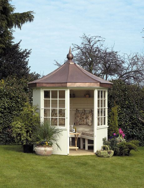 Summerhouses Photo Gallery - view a wide selection of wooden summerhouse pictures from Scotts of Thrapston