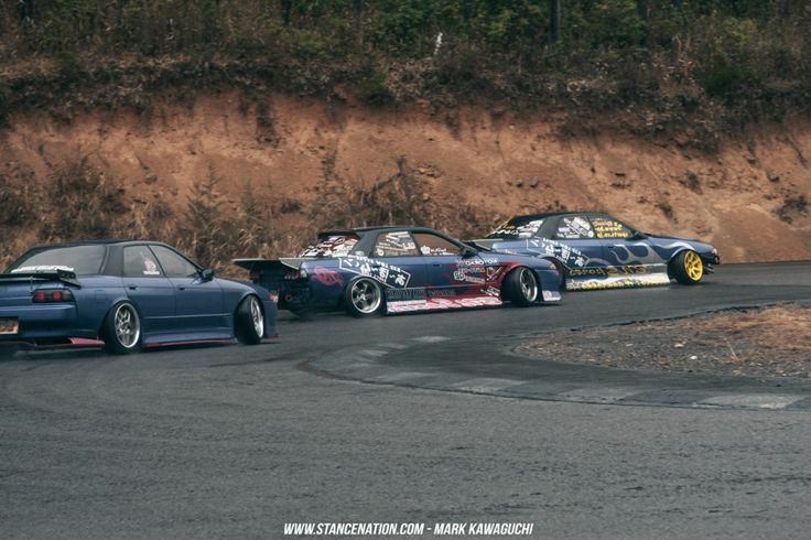 TEAM A-BO-MOON // A DAY WITH THE R32 DRIFT KINGS.