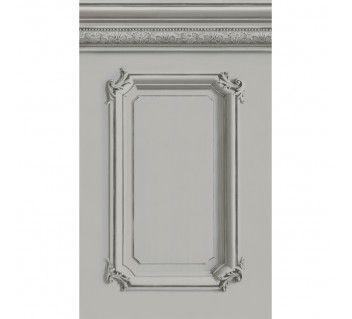 papier peint soubassement boiseries haussmannienne grise boiseries pinterest lambris. Black Bedroom Furniture Sets. Home Design Ideas