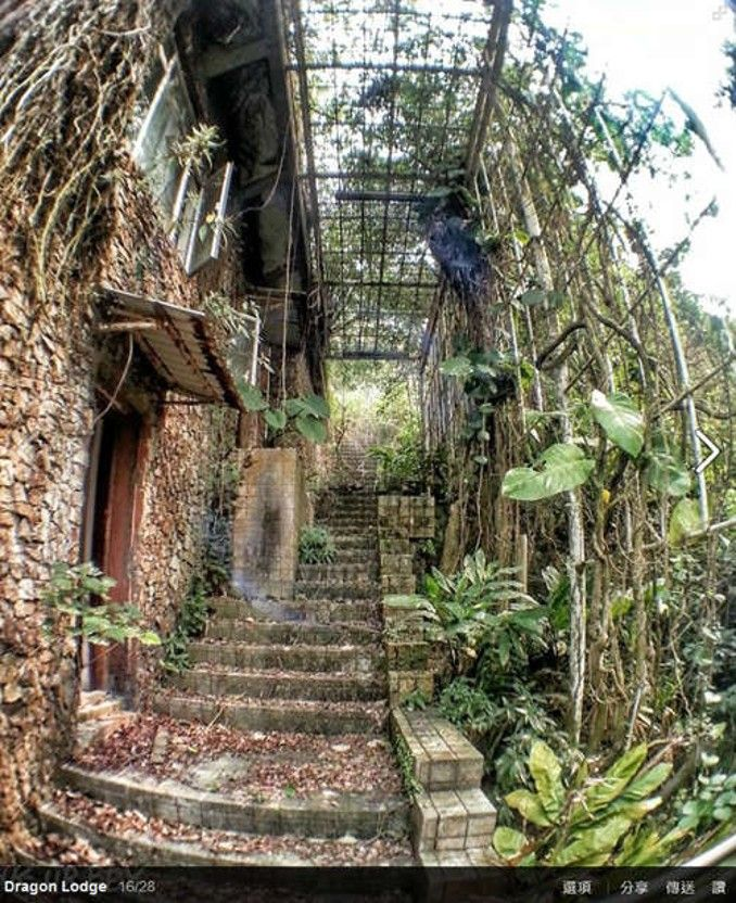 Abandoned House On Hong Kong's Victoria Peak. I Love The