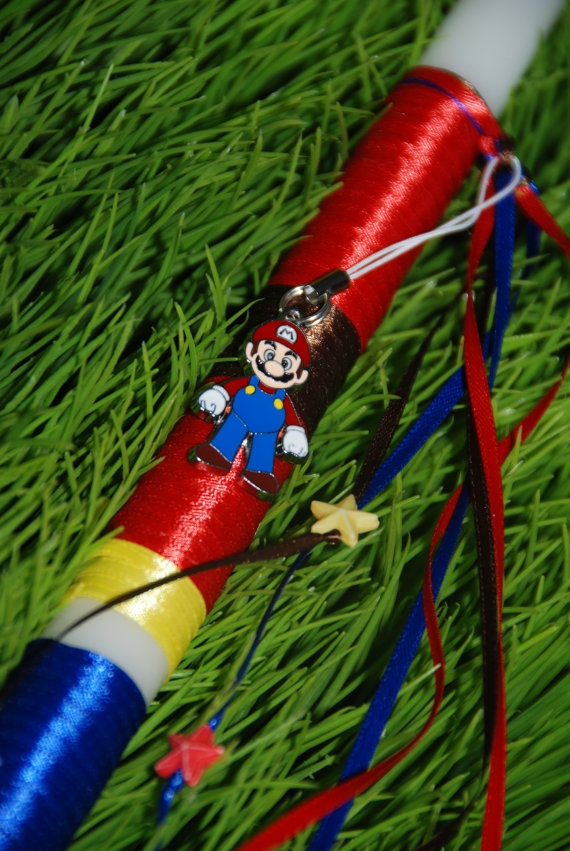 Mario Bros Greek Easter Lambada by KoulEvents on Etsy, $12.00