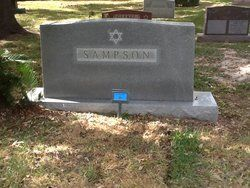 Abe Hyman Sampson            Birth: 	Feb. 15, 1885, Russian  Death: 	Jul. 18, 1969 Houston Harris County Texas, USA  Son of Bernard Sampson    Inscription: Hebrew name: Abraham Chayim bar Binyumin Halevi   Burial: Beth Yeshurun Cemetery Post Oak Harris County Texas, USA