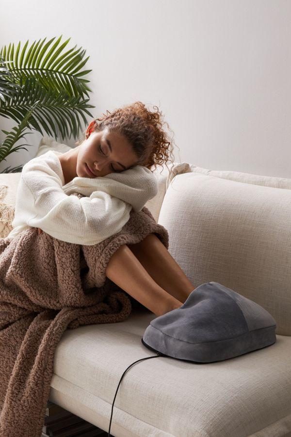 Sharper Image Massager Foot Pillow Best White Elephant Gifts