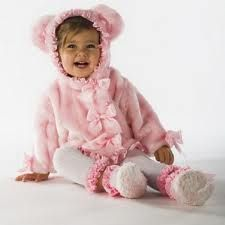 Pink teddy bear outfit
