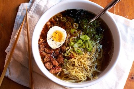 THE COMPLETE GUIDE TO MAKING RAMEN AT HOME