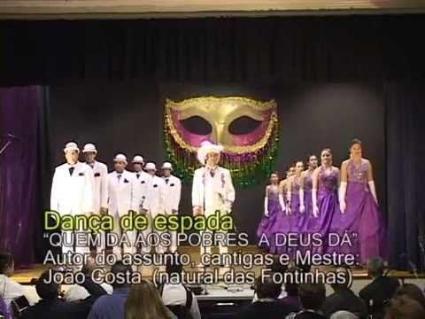 Carnaval - Danca de espada 2013 - Quem Da Aos Pobres A Deus Da - Portuguese Band San Jose - YouTube
