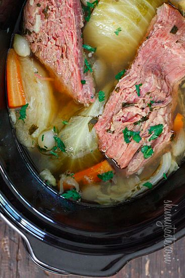 ... Crock Pot Corned Beef, Corn Beef Cabbage Crockpot, Corn Beef Crockpot