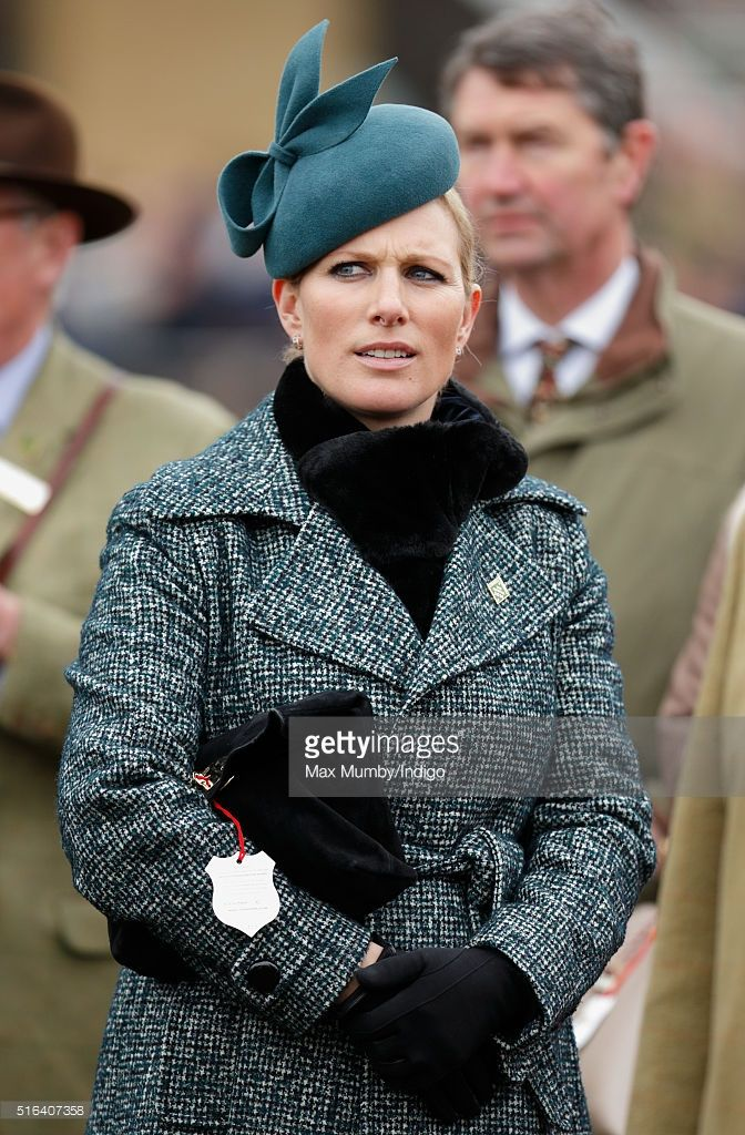 Zara Phillips attends day 4, Gold Cup Day, of the Cheltenham Festival on March 18, 2016 in Cheltenham, England.