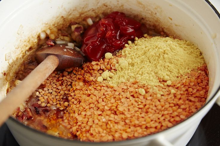 How to Make Lentils Like Baked Beans - Replace ketchup with tomato paste and it becomes an unprocessed recipe.