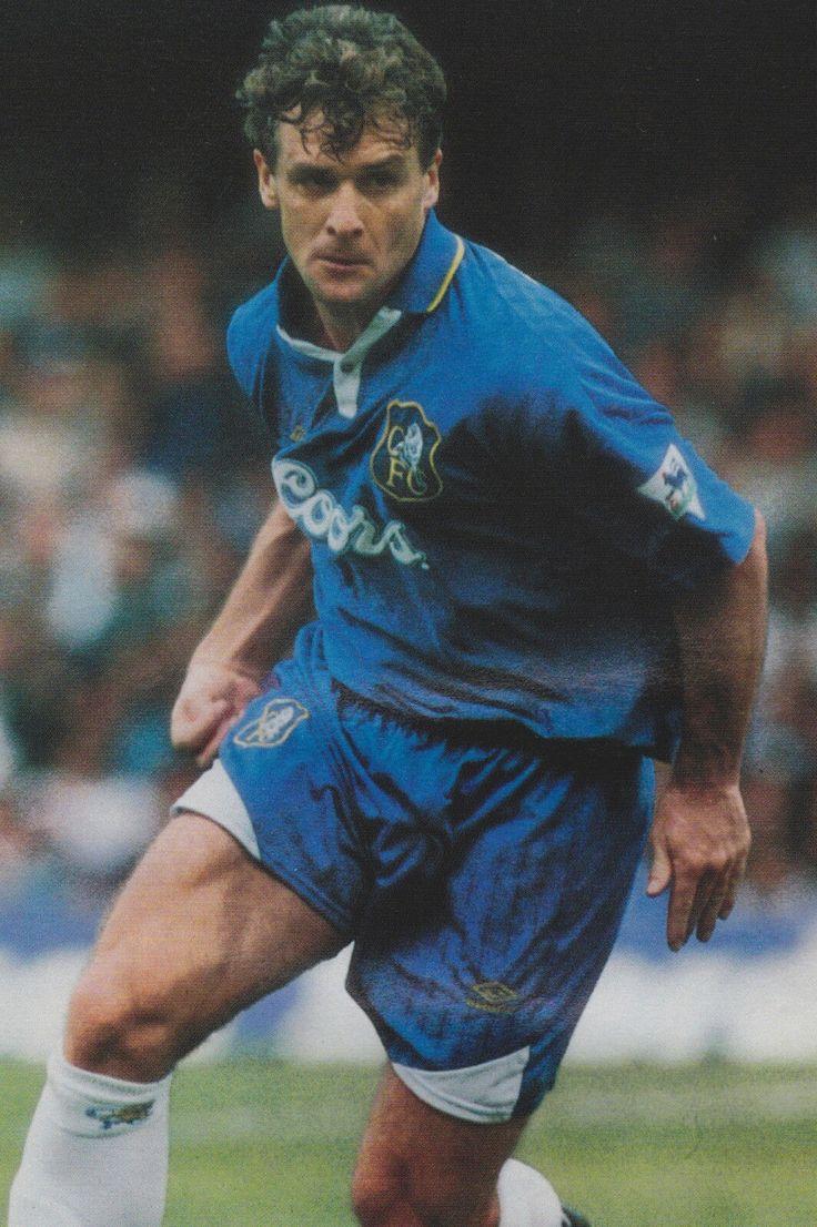 Mark Hughes of Chelsea in 1997.