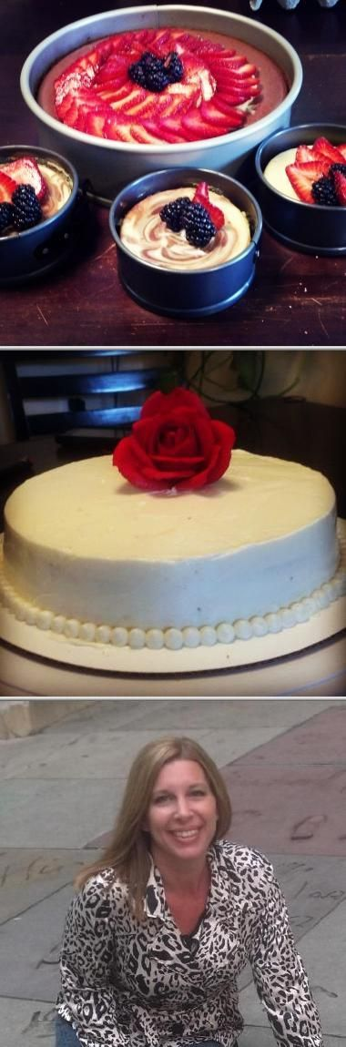 Heather Kelley is a licensed pastry chef who offers wedding cakes and candy buffet services. This professional also makes cupcakes, pies, breads, and more.