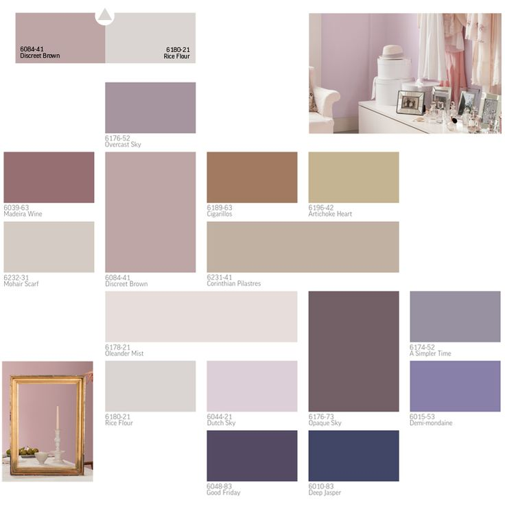 2013 paint colour trends inspired by gardens in bloom and paintings by the old masters - Home Decor Color Palettes