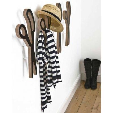 Scandinavian Design, A Very Large Pair Of Scissors Wall Hook
