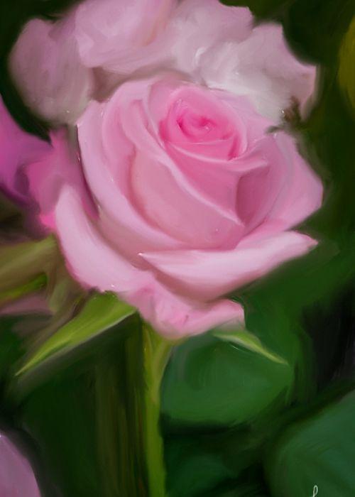Rose Gift Greeting Card