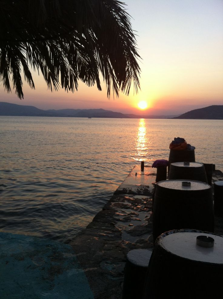 Agria,Volos,Magnesia,Greece  sunset