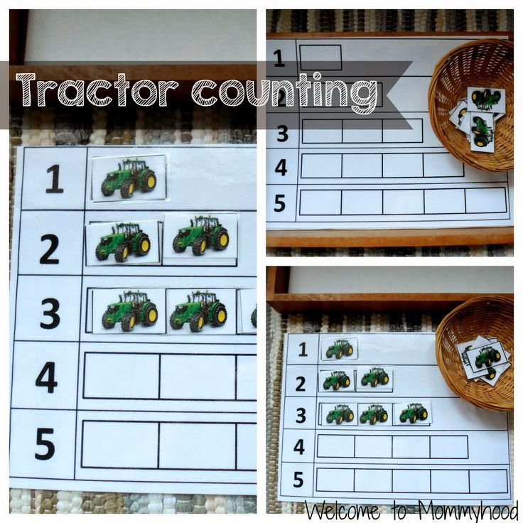 Farm activities for toddlers (FREE printable)