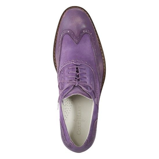 I don't know what I'd wear these with, but I kind of love them! Cole Haan Air Colton Casual Wingtip