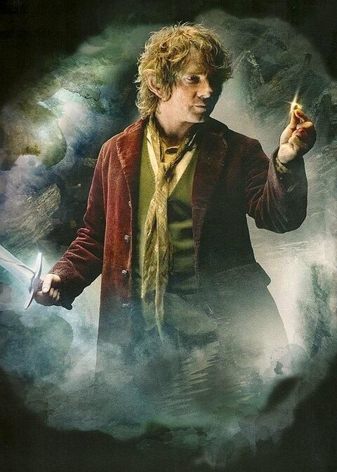 """the hobbit - bilbo baggins, or as me and my mom like to call him, """"Dent, Arthur Blibo Baggins Dent!"""" Lol Yes, we're nerdy and we're proud!"""