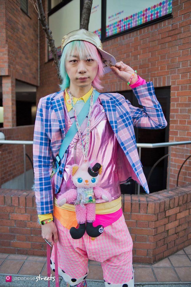 130127-3875: Japanese street fashion in Harajuku, Tokyo.