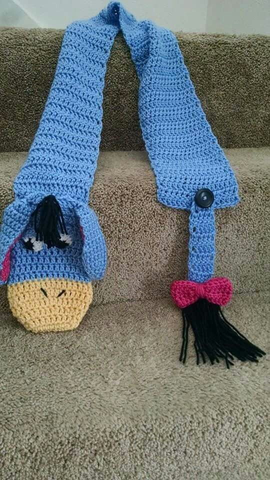 Eeyore now to find a knitting pattern