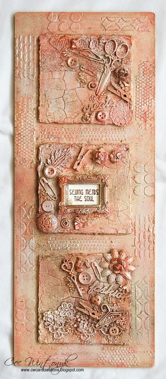 The new challenge starts today at Stamps and Stencils . Autumn is hosting this one and she is calling it Trash to Treasure . She descri...
