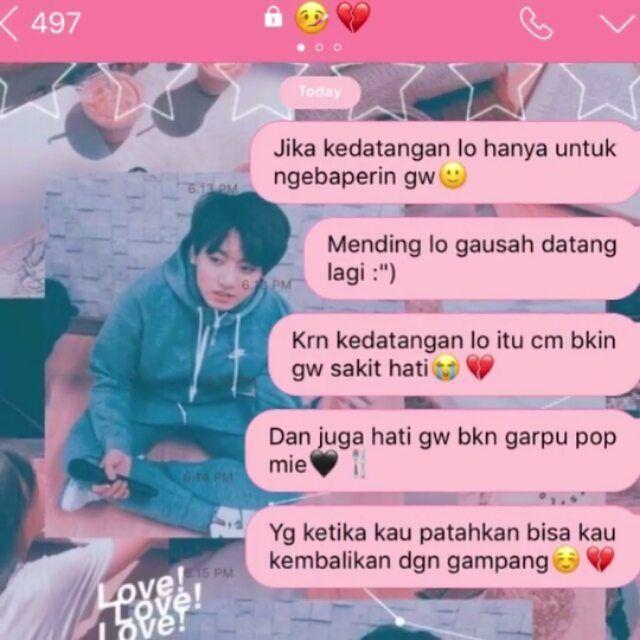 Fakechat Ccp Di Instagram Mending Lo Ga Usah Datng Lagi Cr