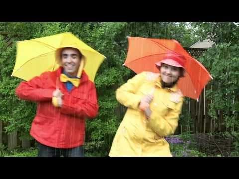 Chanson - Il pleut. Useful to practise the eu sound- pleut, cheveux, heureux as a starter.