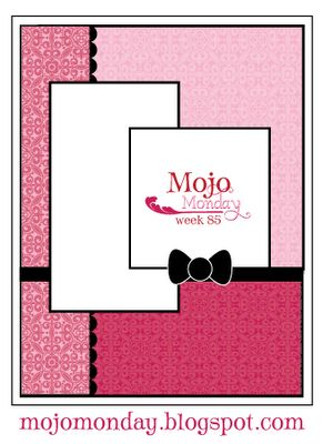 Mojo Monday: Card Sketch #85