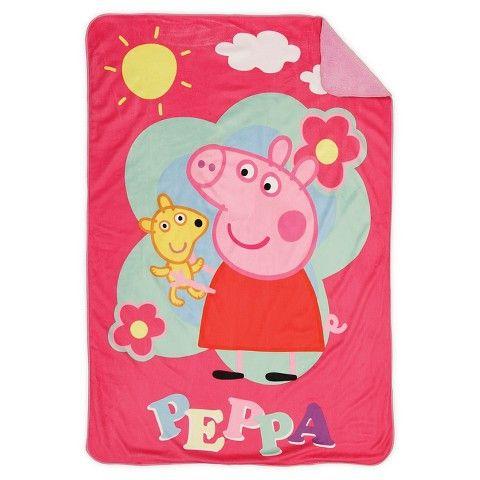 Peppa Pig Toddler Blanket