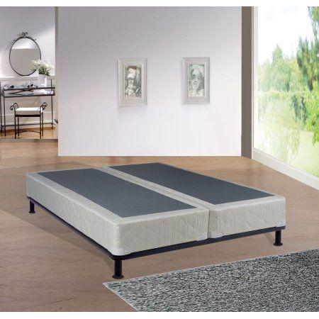 Continental Sleep Mattress, Fully Assembled Split Box Spring, Queen, Beige