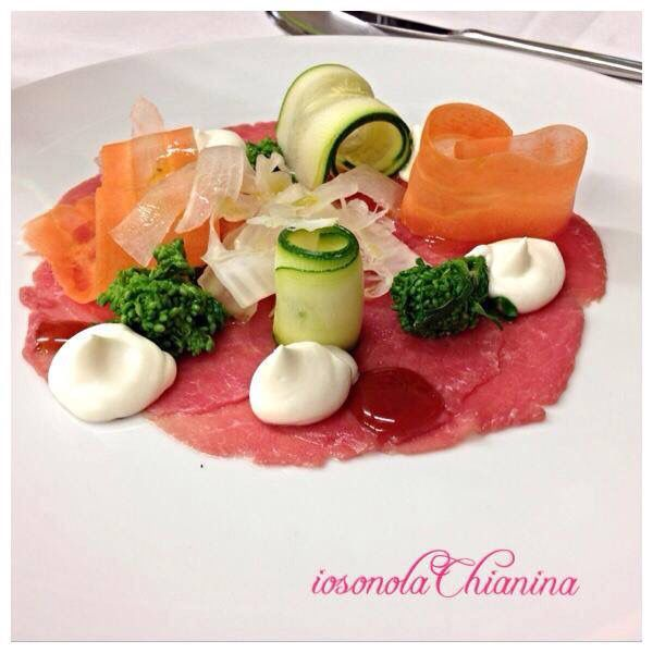 Carpaccio di Chianina