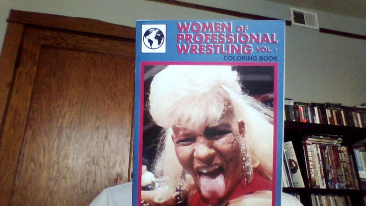 This is a coloring book/zine from Jessie Moffett.  You can color Bull Nakano, Aja Kong, Luna Vachon, Madusa, Awesome Kong, and Sara Del Rey! Also includes short profiles of each wrestler.