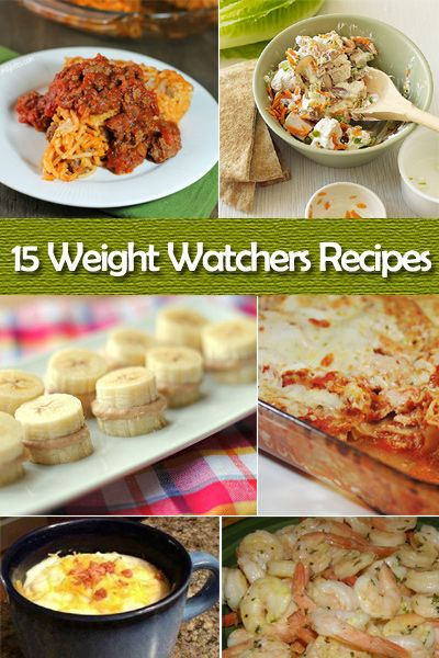 15 Great Weight Watchers Recipes #diet #healthyeating
