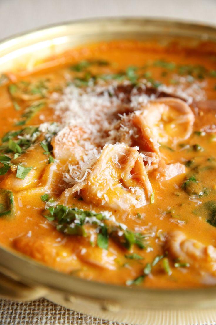 Sun-Dried Tomato Tortellini Soup