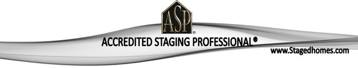 Congratulations, Luanna on becoming an ASP (Accredited Staging Professional).  This extra training will be such an asset to your clients! Click the link for some stats that show how important staging is!