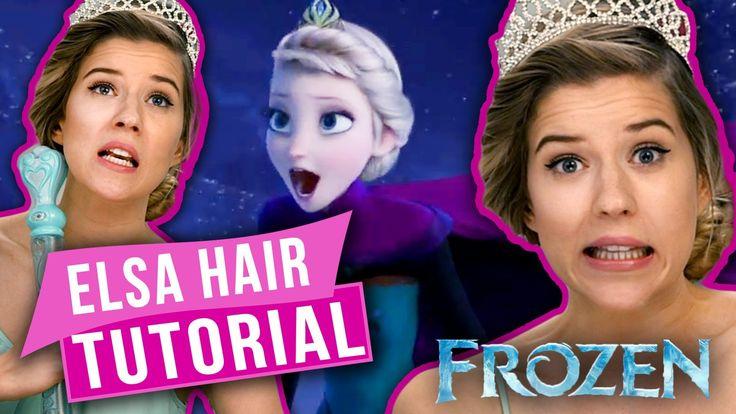 Meghan Rosette's 'Frozen' Addiction - Elsa Coronation Hair Tutorial