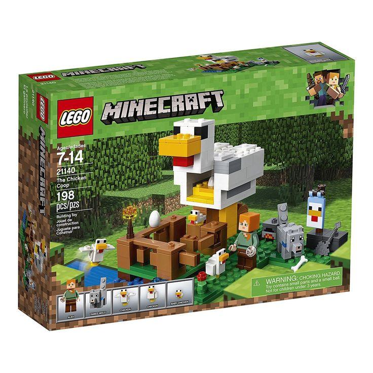 LEGO® Minecraft The Chicken Coop Building Set 21140