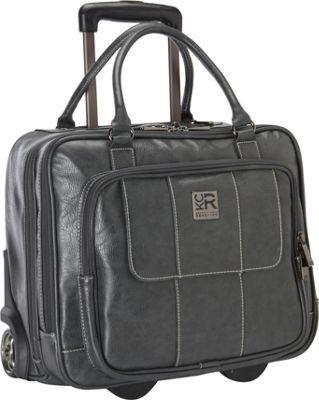 Kenneth Cole Reaction It's Wheel-y Late Rolling Laptop Case Bag Grey - via eBags.com!