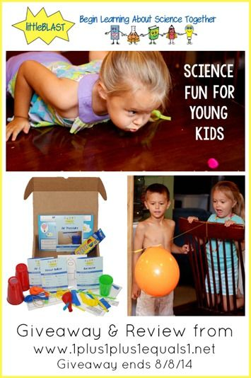 littleBLAST Review and Giveaway from @1plus1plus1 {ends 8.14.14}: 1 1 1 1 Reviews, Young Children, Littleblast Science, Science Experiments, Littleblast Review, Preschool Science, Fun Science, Science Fun