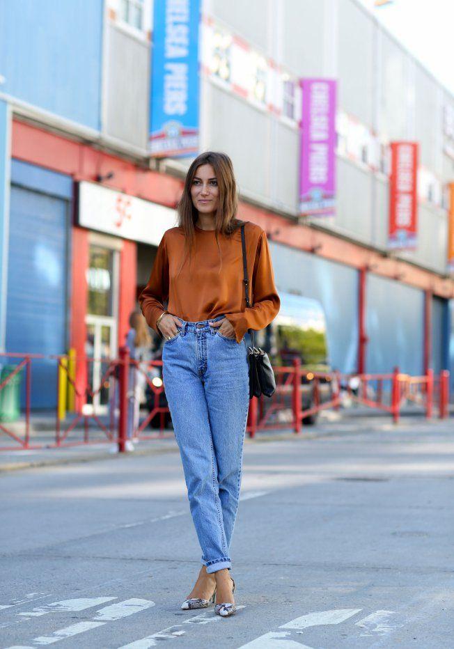 Le jean taille haute