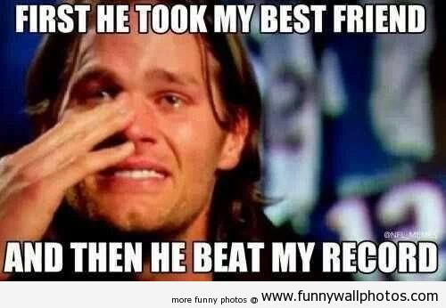 wes welker and peyton manning | Peyton Manning steals Wes Welker and Tom Brady's record | Funny Wall ...