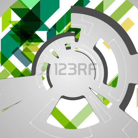 abstract background for futuristic tech design Stock Vector